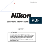 Nikon C2 Confocal Stup Manual