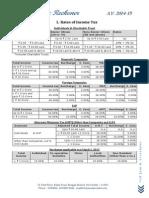 Income Tax Reckoner 2014 15