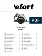 DCS-161N Circular Saw - User Manual