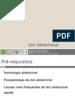4 - Dor Abdominal