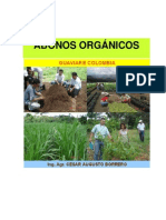 ABONOS ORGANICOS-CARTILLA-2009