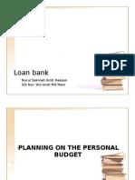 Presenntation Loan Bank - BMT 2009