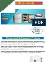 Marine Boat Refrigeration System