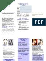 Triptico Anorexia, Bulimia y Obesidad