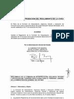 Reglamento funcionamiento CIVEA