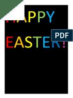 Charlotte's Easter Poster