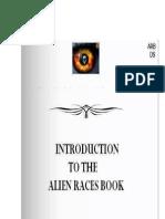 Alien Race Book -Green Guys