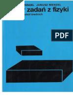 Mendel Bogdan Mendel Janusz - Zbiór zadań z fizyki dla klasy I s.pdf