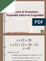 Solución de Ecuaciones lineales de 1 paso