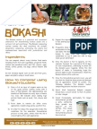 Factsheet - How to Bokashi