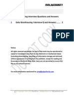Data Warehousing Interview Questions Answers