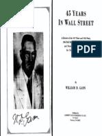 ## 45 Years in Wall Street - Gann, W.D. 1949