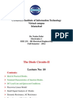 Electronics 1 -  Lecture 10