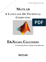 Basics of Matlab