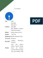 SBI Profile