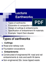 Lecture Earthworks