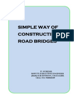 SIMPLE WAY OF CONSTRUCTING ROAD BRIDGES