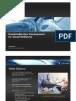 Sustainable App Development for Social Networks