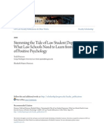 stemming the tide of law student depression- what law schools nee