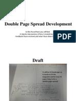 Double Page Spread Development