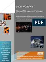Advanced Risk Assessment Course Flyer