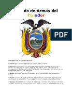 Escudo de Armas Del Ecuador