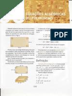 CAP.39-EQUAÇÕES ALGÉBRICAS OU POLINOMIAIS