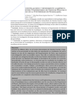 33 Relaciones Docente-Alumno y Rendimiento Academico Un Caso Del Centro Universitario de Ciencias Exactas e Ingenierias de La Universidad de Guadalajara