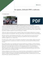 No Poder, PSOL Faz Ajuste, Defende PPP e Enfrenta Grevistas