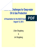 Materials Challenges for Deep-Water Oil & Gas Production