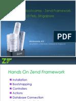 PHP BootCamp Zend Framework