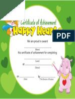 Happy Hearts 2 Cert