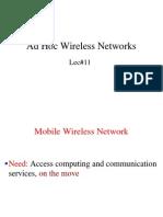 Mn 11 Adhoc Networks