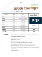 TG Promotion Fixed Flt (OCT-JAN'10)