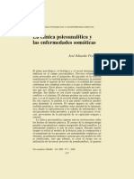 Fischbein. La clínica psicoanalítica y las enfermedades somáticas