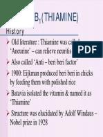 Thiamine Procedure