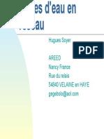 190763775 Pertes d Eau en Reseau PDF