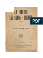 1890, Maeterlinck, Maurice, Interiores, La intrusa, Los ciegos.pdf