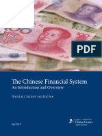 Chinese Financial System Elliott Yan
