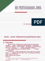 MEKANISME PERTAHANAN JIWA