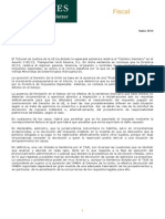 Newsletter Fiscal Marzo 2014