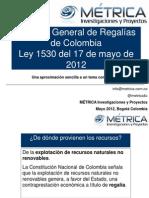 sistemageneralderegalasfuncionamientoyprocedimientosley1530de2012-120522183102-phpapp01