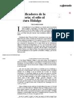 Pedro Salmerón - Falsificadores de la historia - El odio al cura Hidalgo