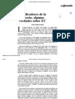 Pedro Salmerón - Falsificadores de la historia; algunas verdades sobre EU