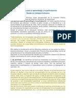 22. Barreras para el aprendizaje y la participación
