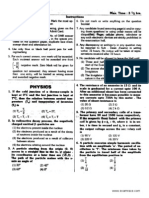 AIIMS Solved Paper 2007