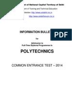 Information Bulletin 2014