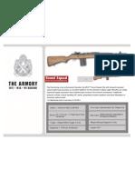 Springfield Armory M1A brochure