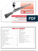 Springfield Armory M1 Garand owners manual