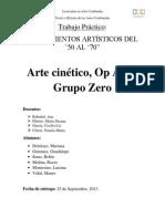 Arte cinético, Op Art y Grupo Zero
